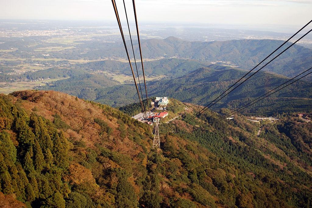 Mount Tsukuba Ropeway | © Polimerek/WikiCommons