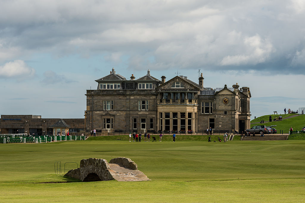 Old Course At St. Andrews | © WikiCommons