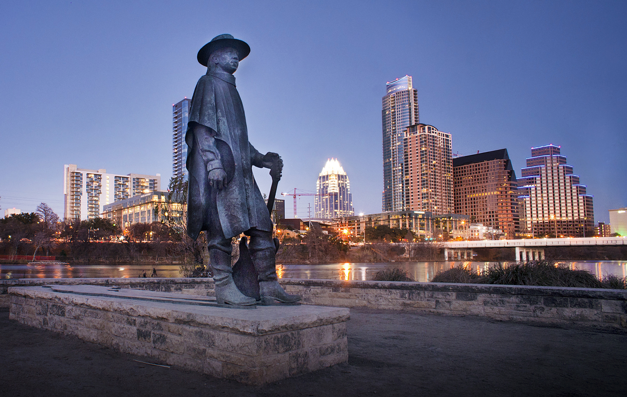 Stevie Ray Vaughn Statue © Katie Haugland/Flickr