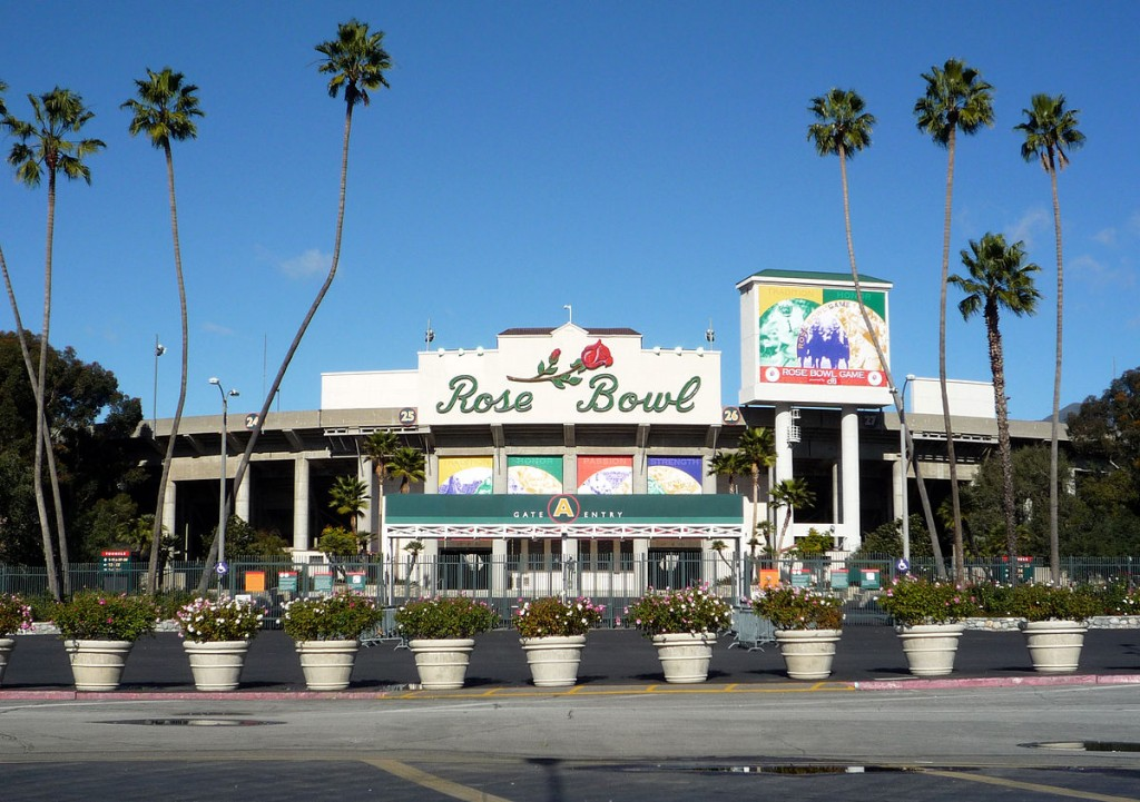 The Rose Bowl © Bobak Ha'Eri/Wikipedia