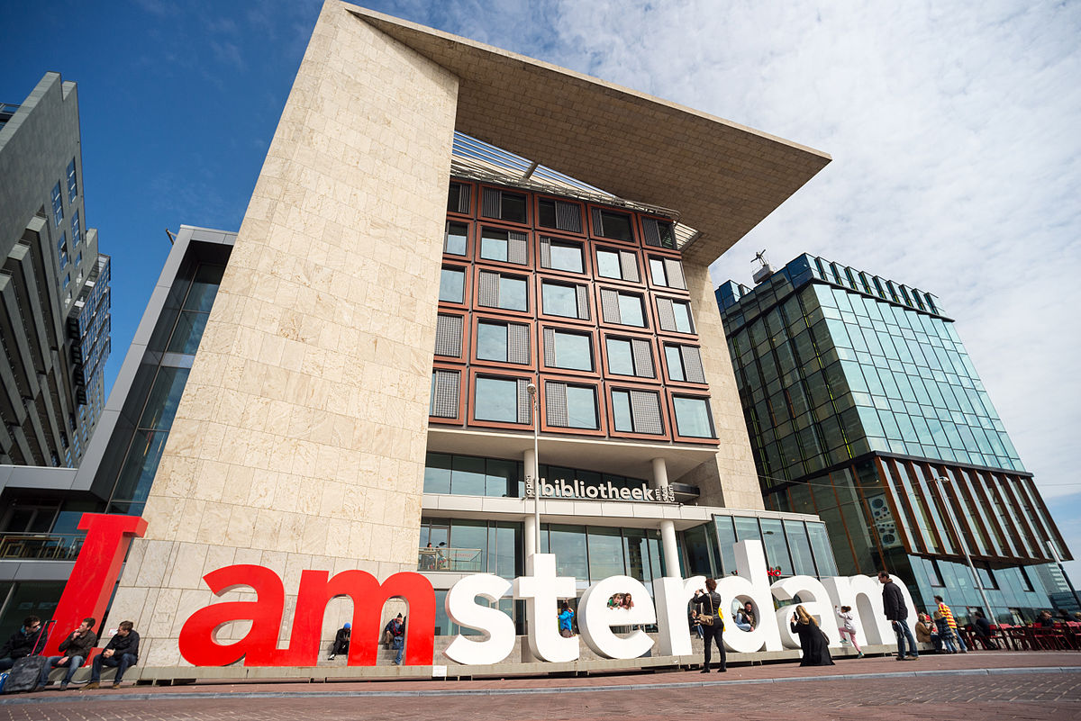 The best things to do in amsterdam for free for Bibliotheek amsterdam