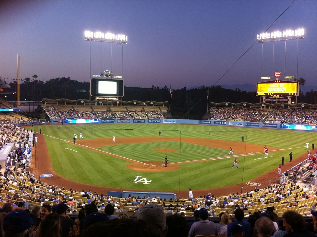 Dodger Stadium © Adam_sk/Wikipedia