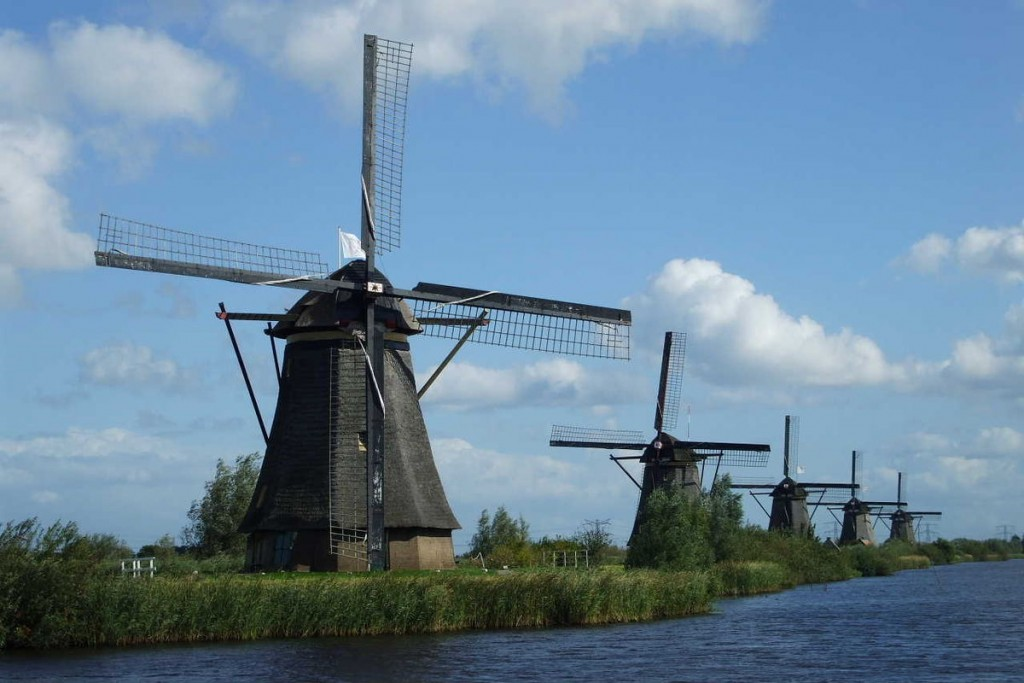 The Most Iconic Windmills In The Netherlands