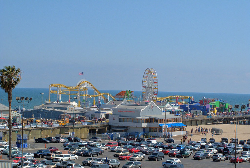 Santa Monica Pier © Downtowngal/Wikipedia