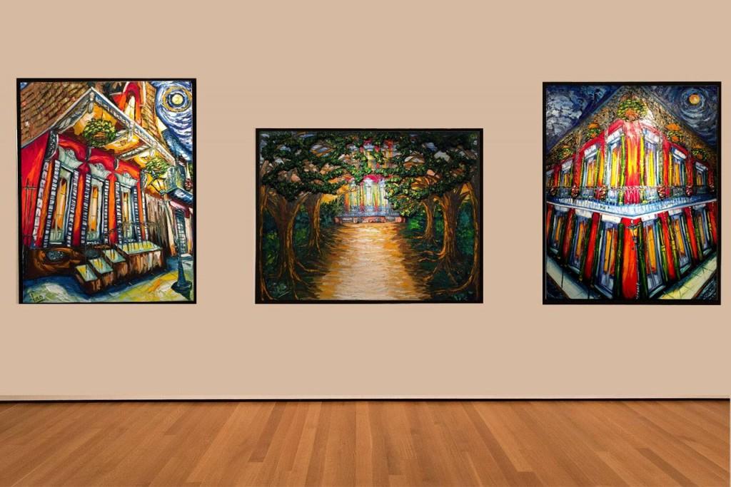 Artworks at Caliche & Pao Gallery| Courtesy of Caliche & Pao