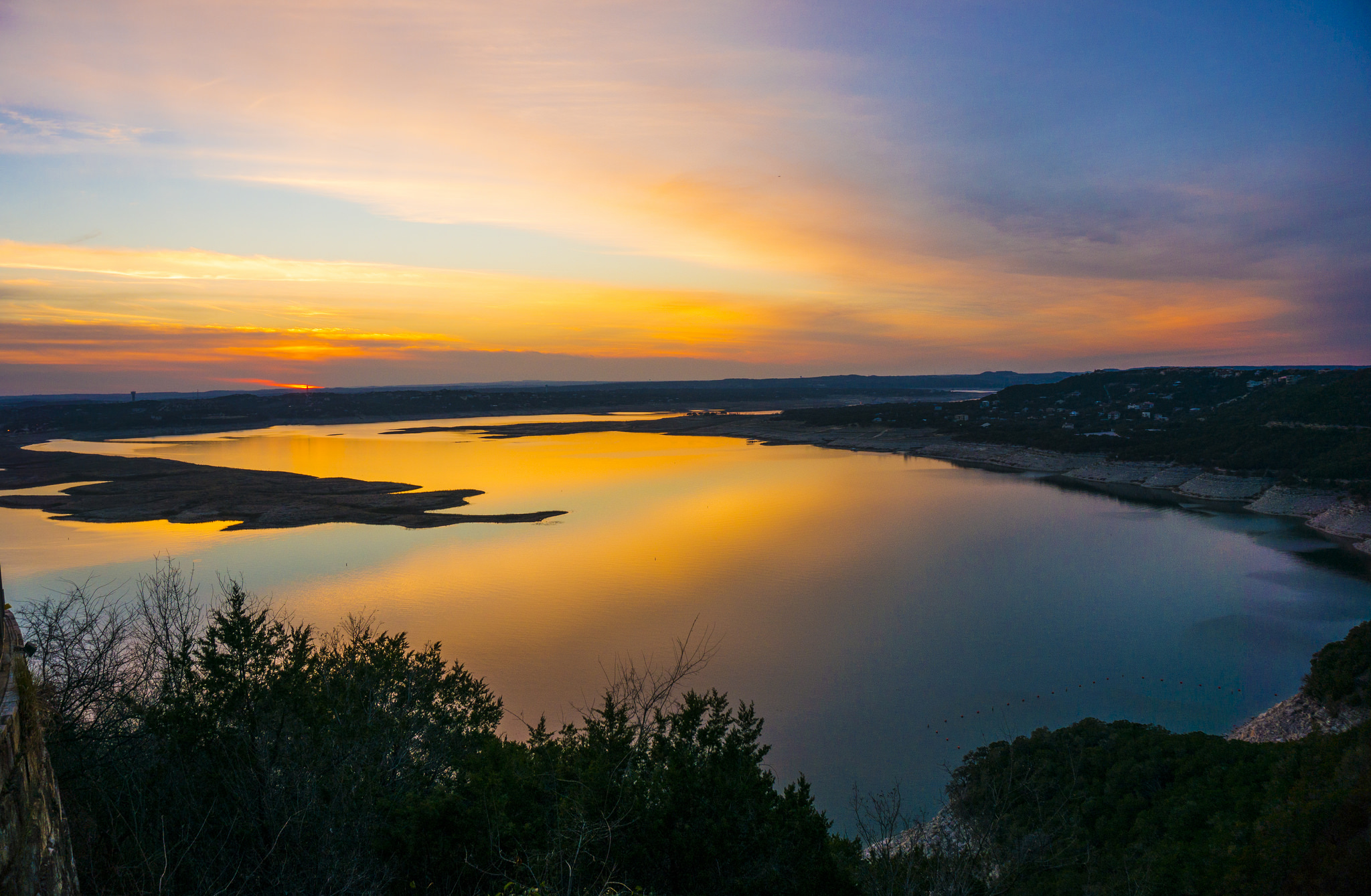 Lake Travis Sunset © Anthony Quintano/Flickr