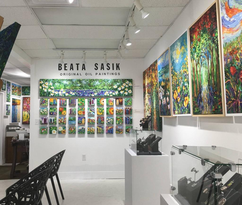 Beata Sasik Art Gallery, courtesy of Beata Sasik Art Gallery