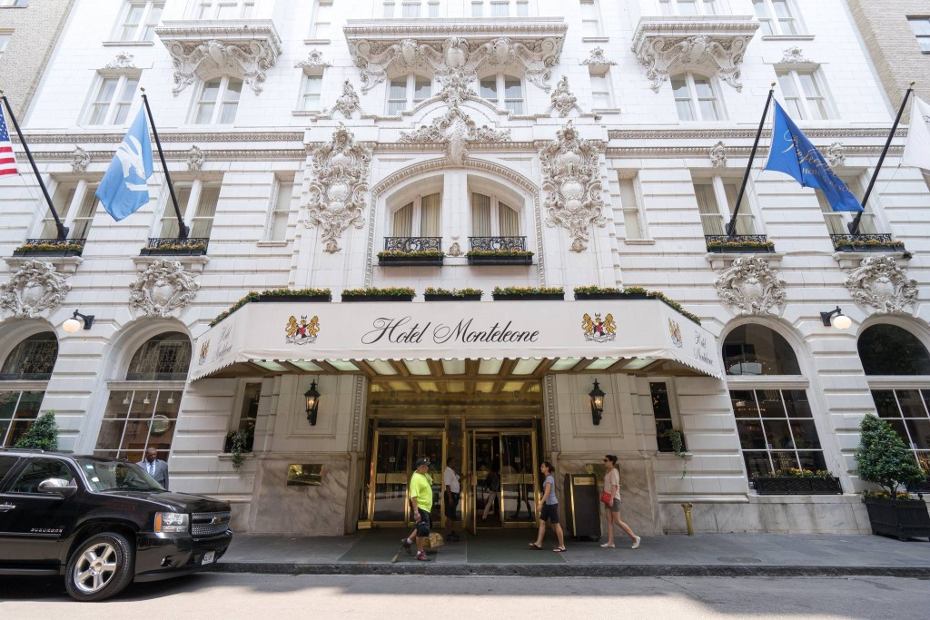 Hotel Monteleone entrance, courtesy of Hotel Monteleone