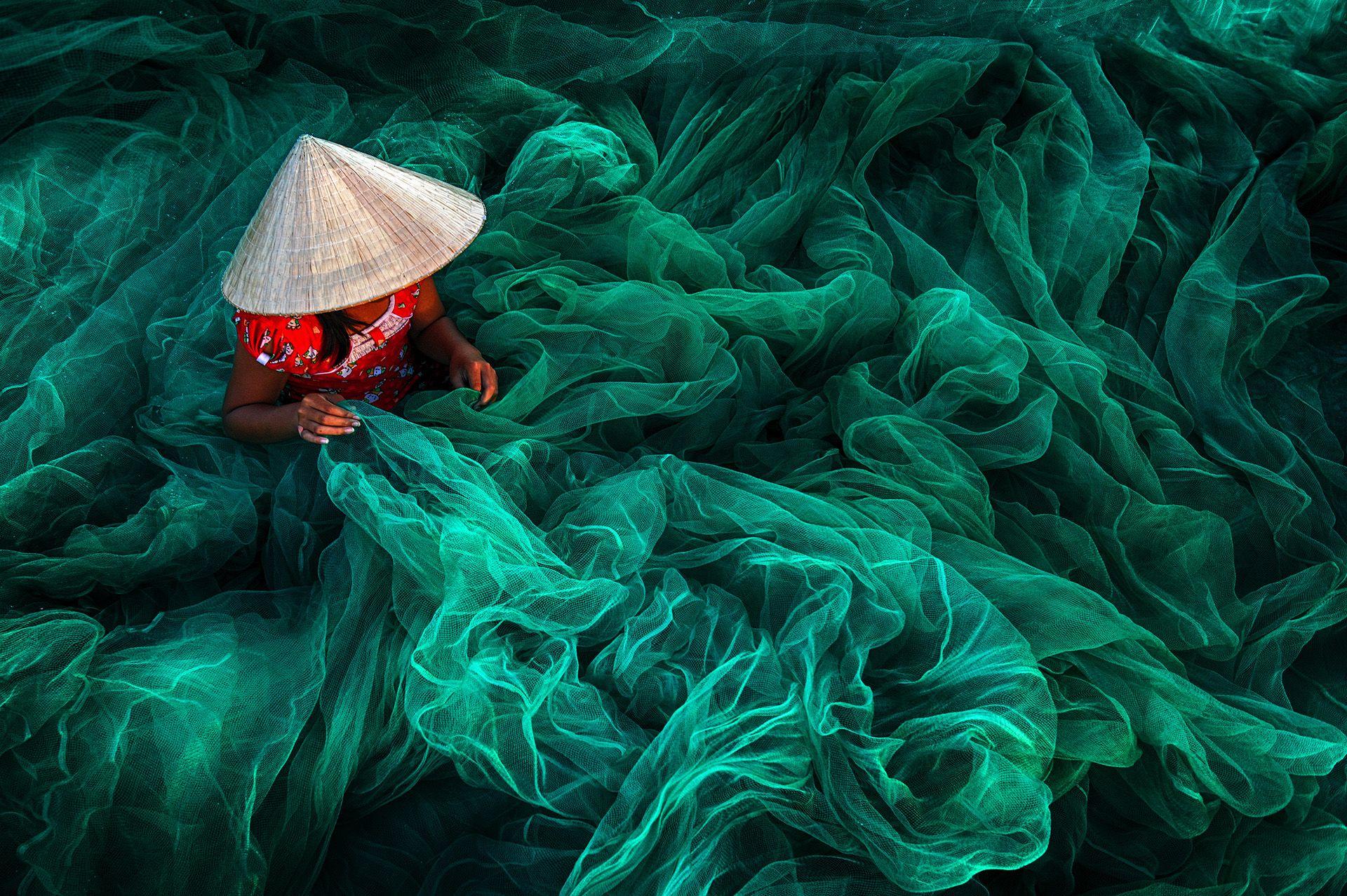 Phan Rang Fishing Net Making © Danny Yen Sin Wong