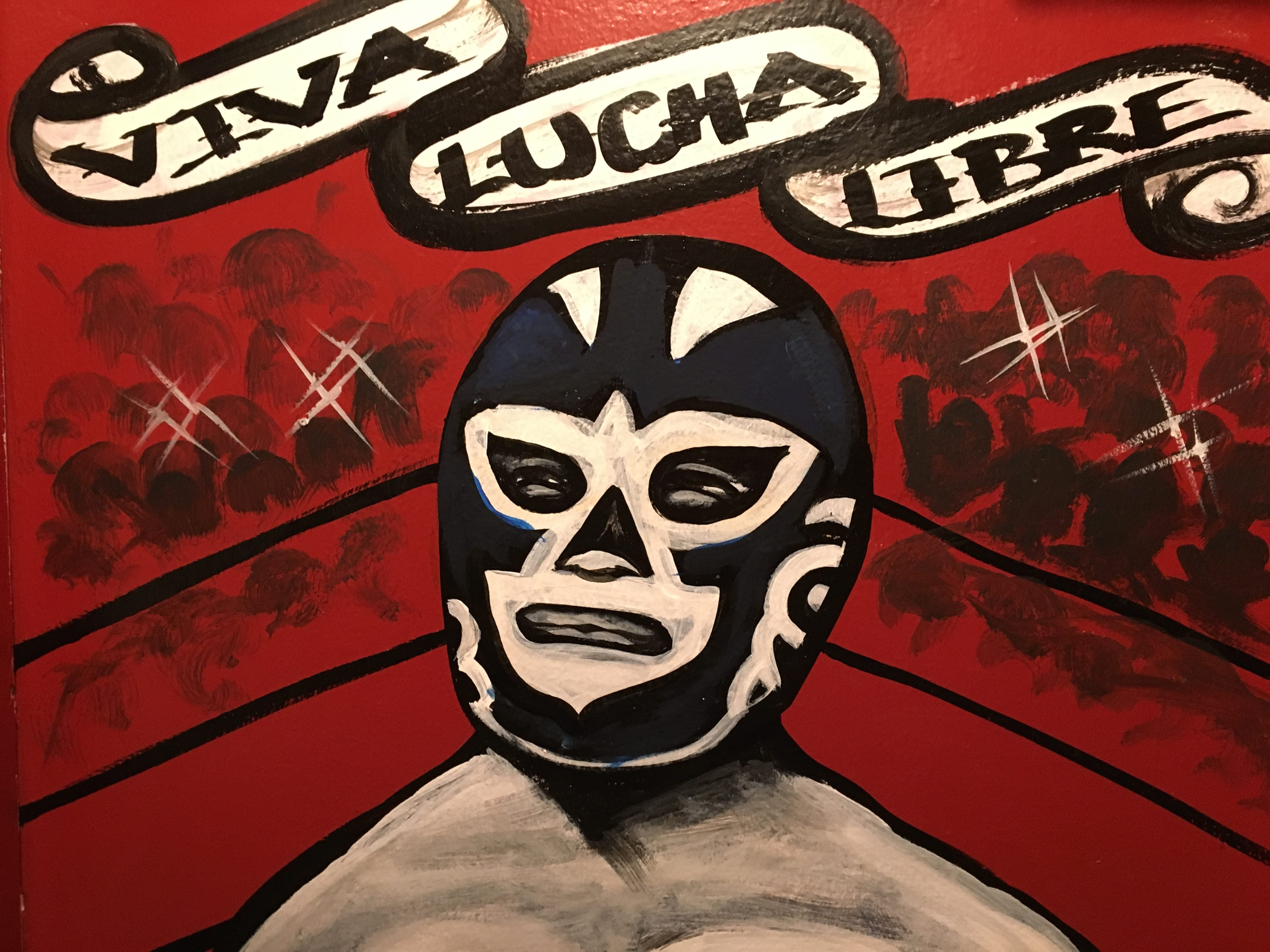 Classic Mexican Wrestling Ring