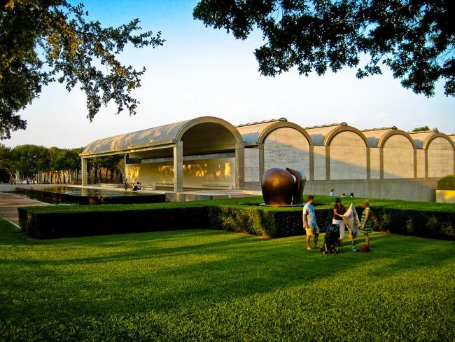 Kimbell Art Museum © Kevin Muncie/Flickr