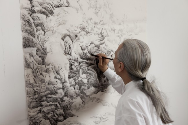 China S Enduring Passion For Ink A Project On