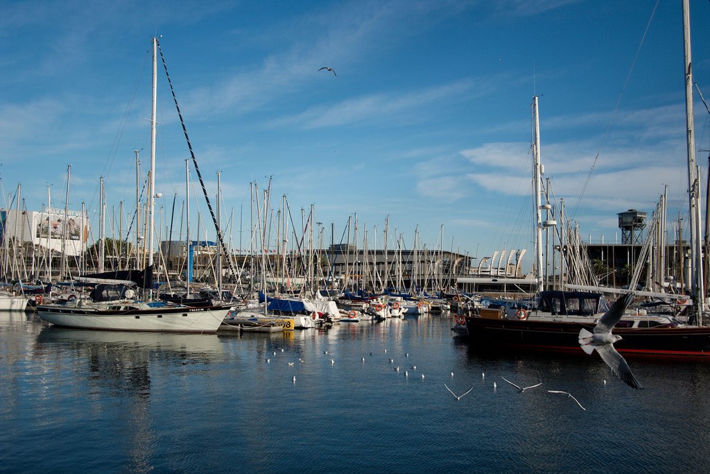 The marina in Barcelona's Old Port | © Sergey Subbotin