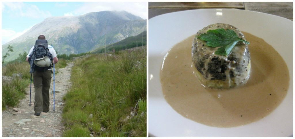 Ben Nevis | © Andrew Bowden/Flickr // Haggis At The Ben Nevis Inn | © Wolf Gang/Flickr