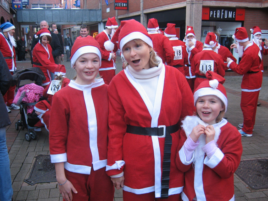 Santa Run | © Steve Lee/Flickr