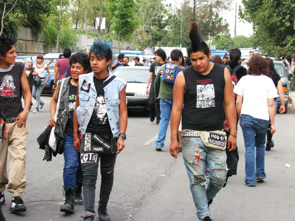 Punks in Mexico City | © johrling/Flickr