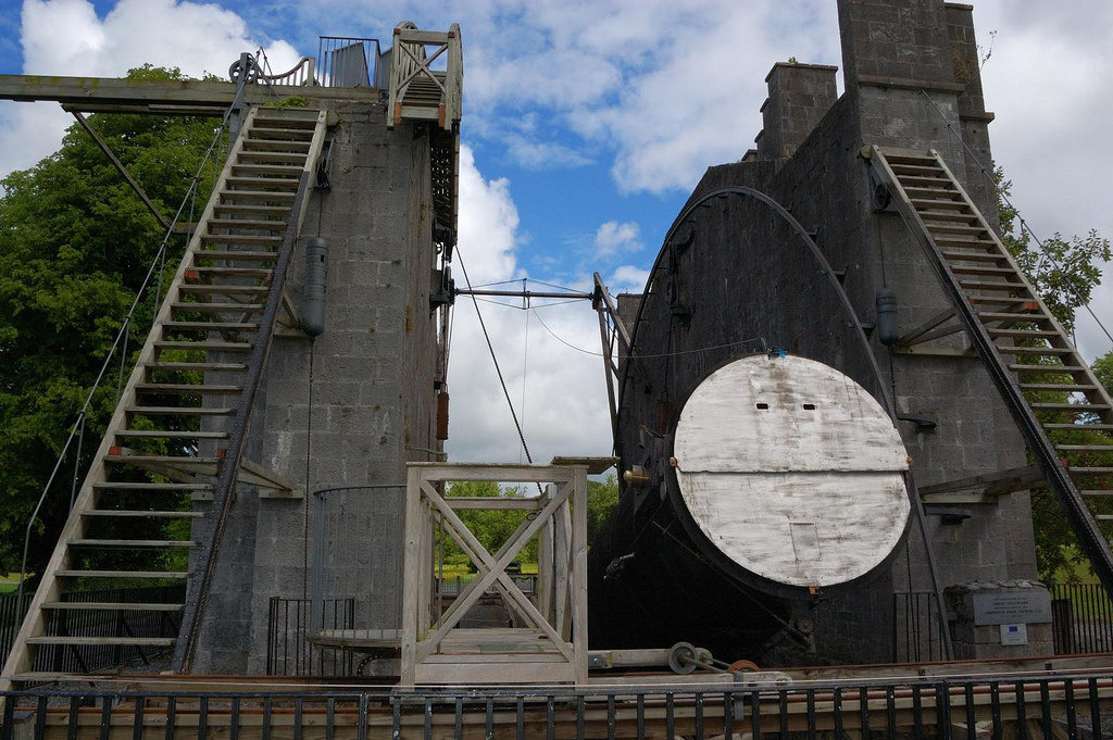 The Leviathan of Parsonstown telescope at Birr Castle | © bea & txema & alan/Flickr