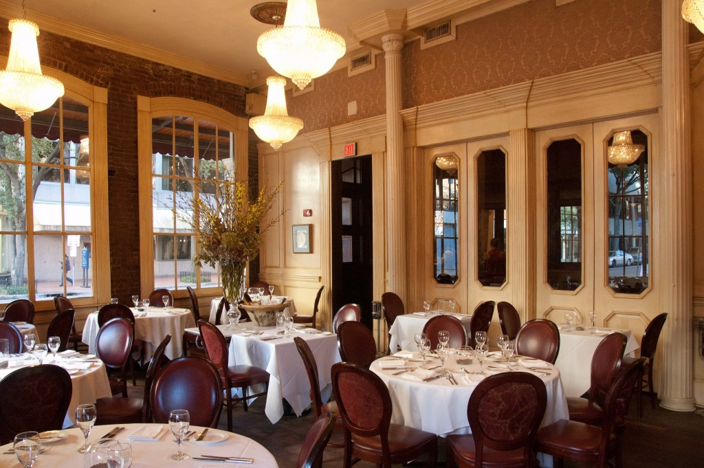 August, Chef John Besh's fine dining eatery in New Orleans' Central Business District, courtesy of Restaurant August.