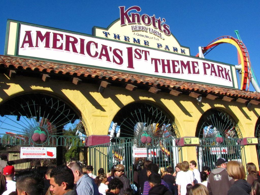 Knott's Berry Farm | © Jeremy Thompson/Flickr