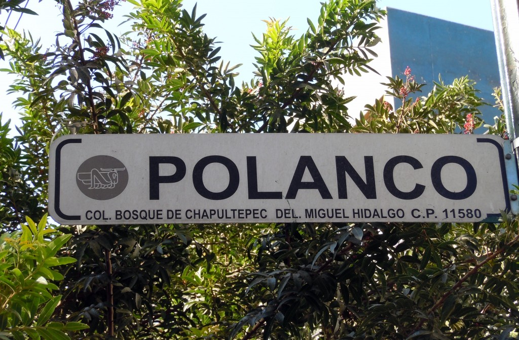 Polanco street sign   © Matthew Rutledge/Flickr