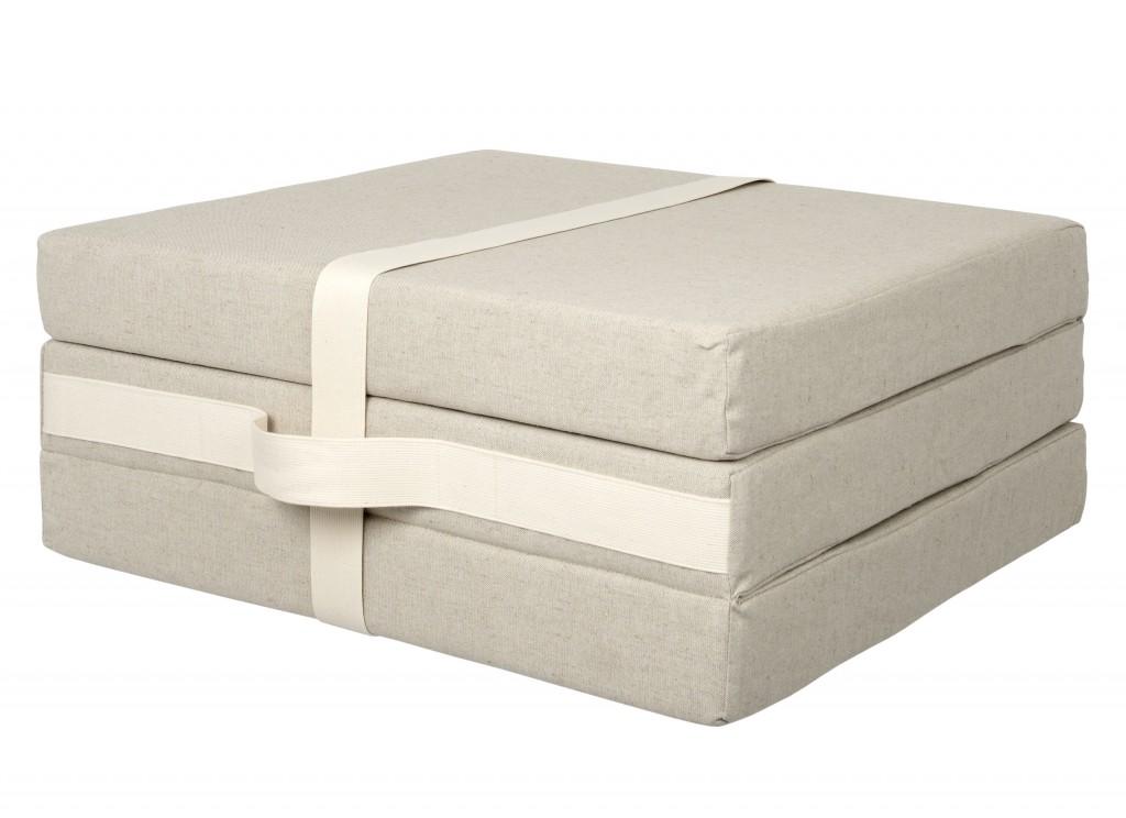 Muji Foldaway guest mattress, £85