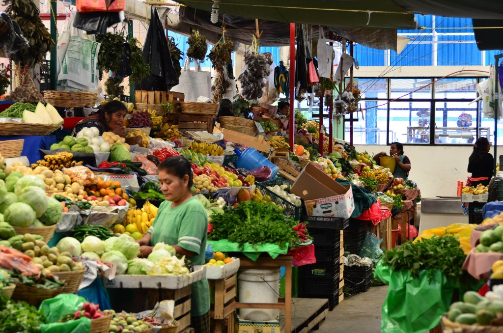 Oaxacan market | © Goyo Gil/Flickr