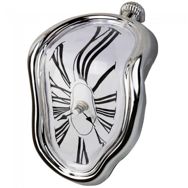 Creatov's Salvador Dalí-inspired Table Melting Time Flow Desk Clock, via Amazon