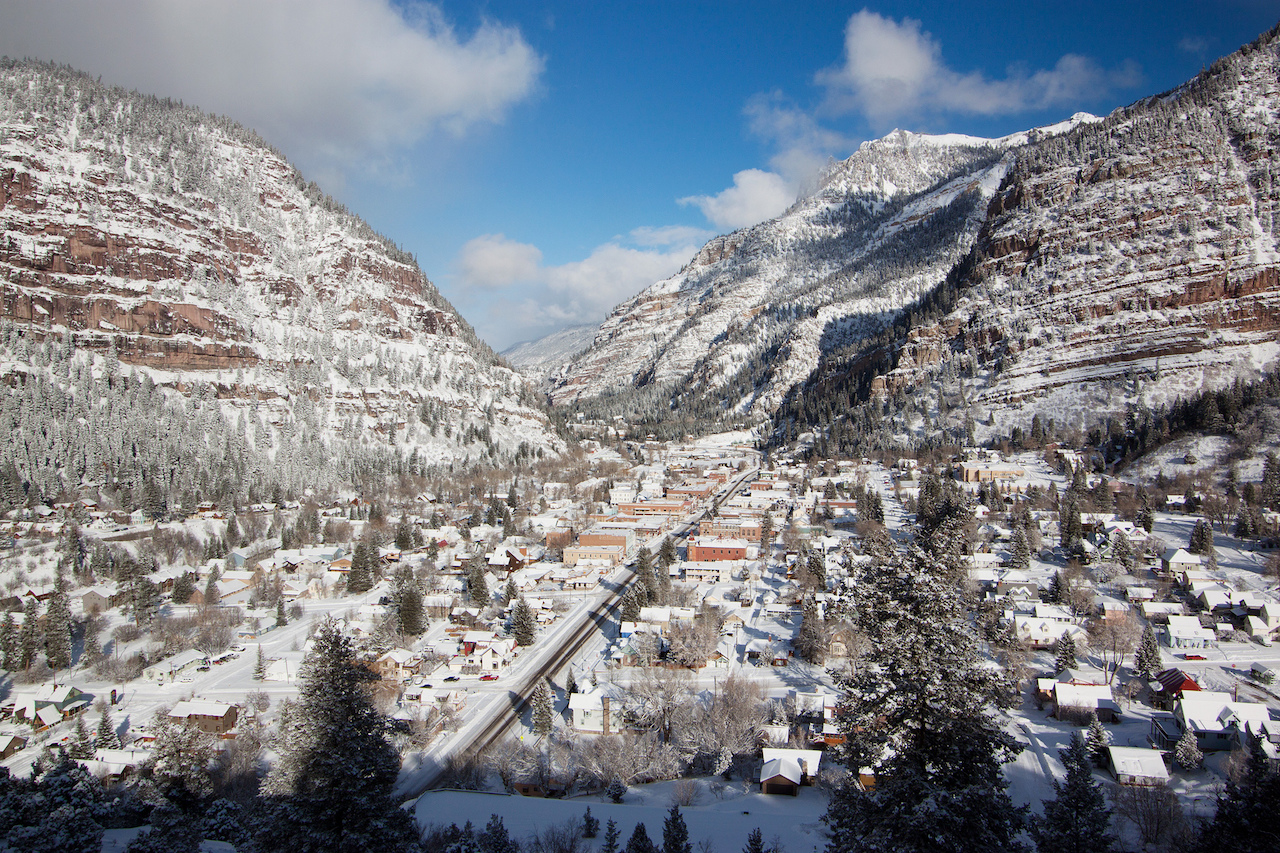 Ouray Co In The Winter C Alan Stark Flickr