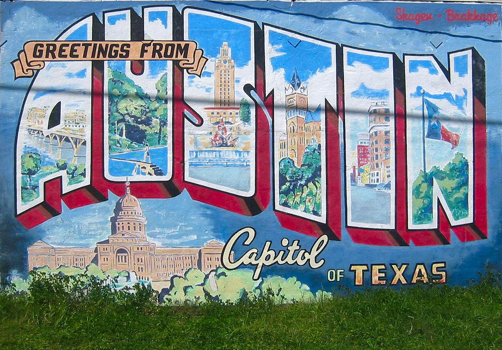 Greetings From Austin Mural © Philip Kromer/Flickr