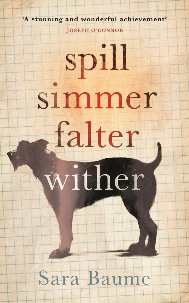 Spill Simmer Falter Wither by Sara Baume | Courtesy of Tramp Press