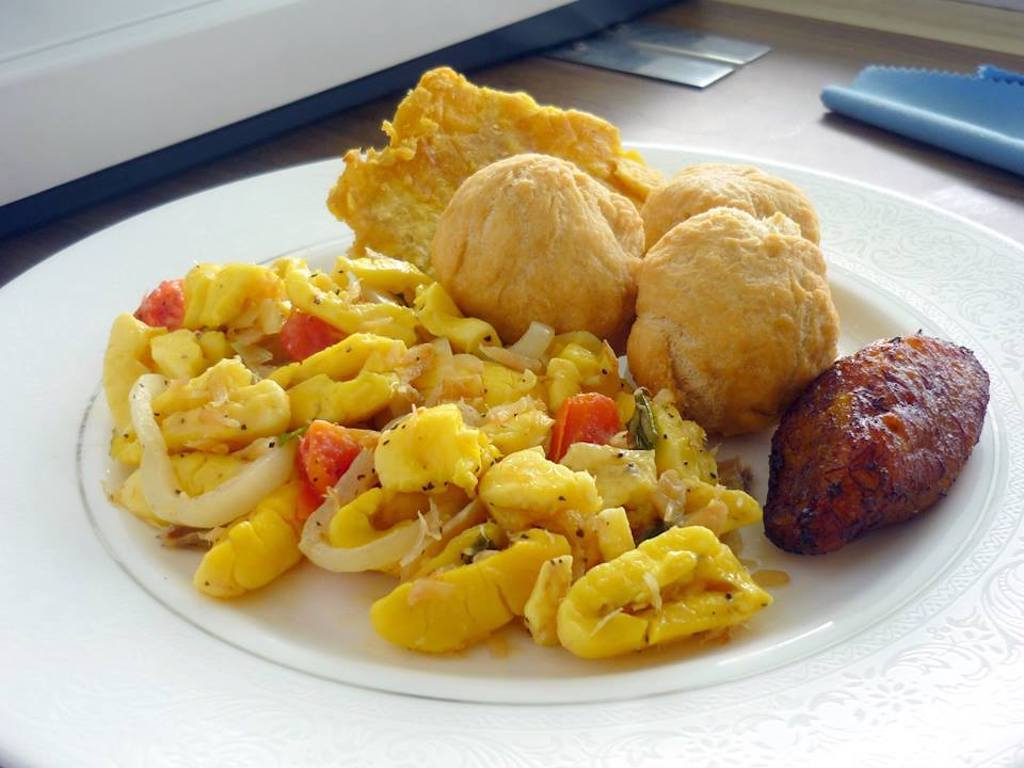 The best places for ackee and saltfish in kingston for Salt fish ackee