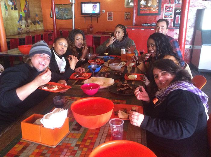 Patrons at aMadoda Braai and Restaurant, Cape Town © Courtesy of aMadoda Braai