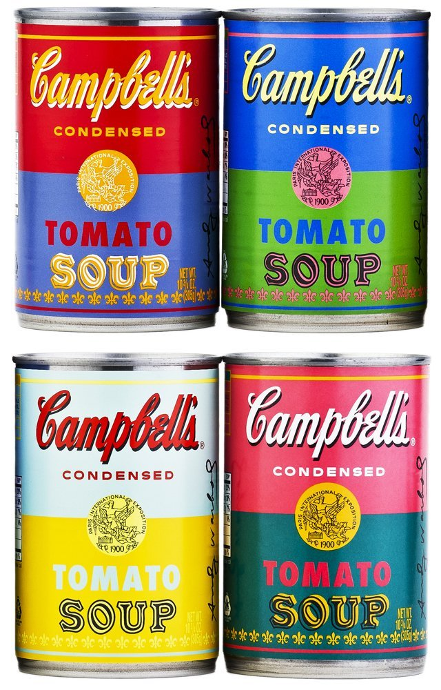 Andy Warhol Campells soup