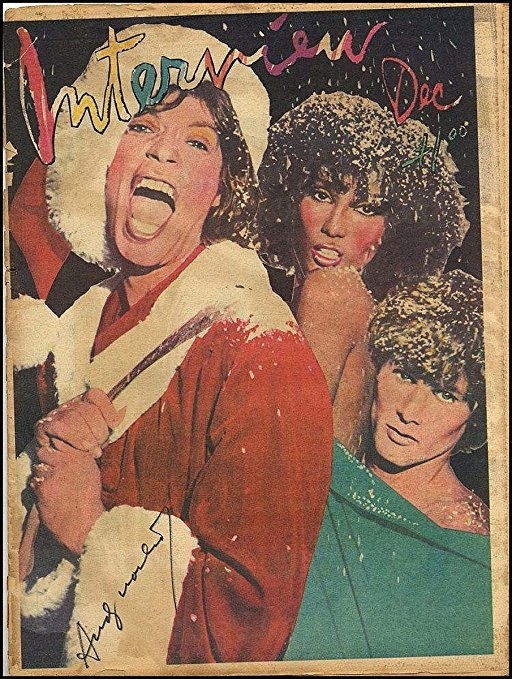 Andy Warhol Christmas Issue of Interview