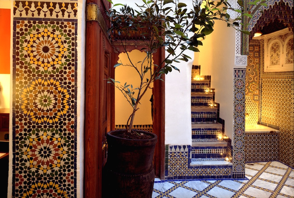 Entrance at Riad 9 | © Riad 9