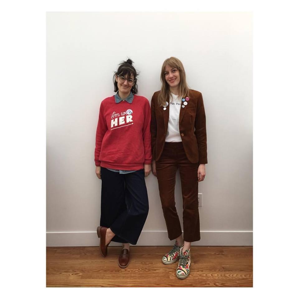 Betony Toht and Jayna Maleri, Brooklyn, New York