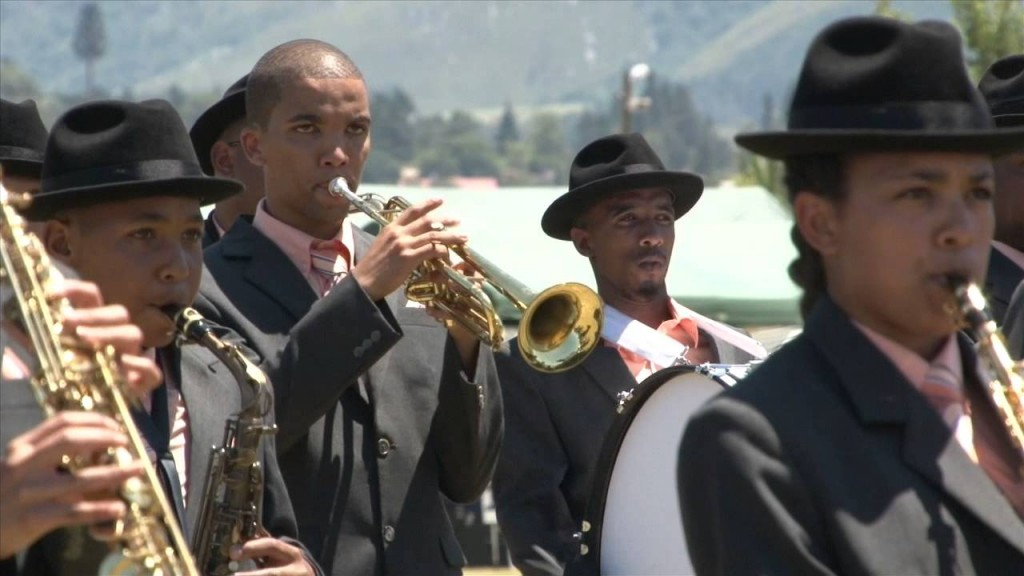 One of the Boland Christmas bands in the Western Cape © Courtesy of Swellendam Television
