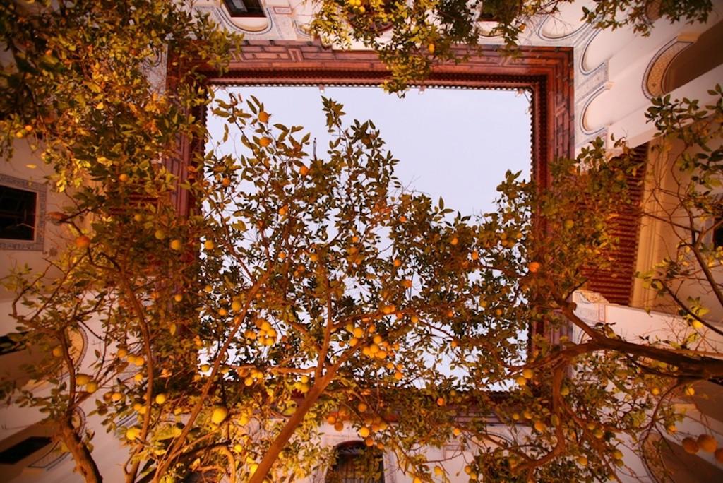 Courtyard at Riad Laaroussa | © Riad Laaroussa