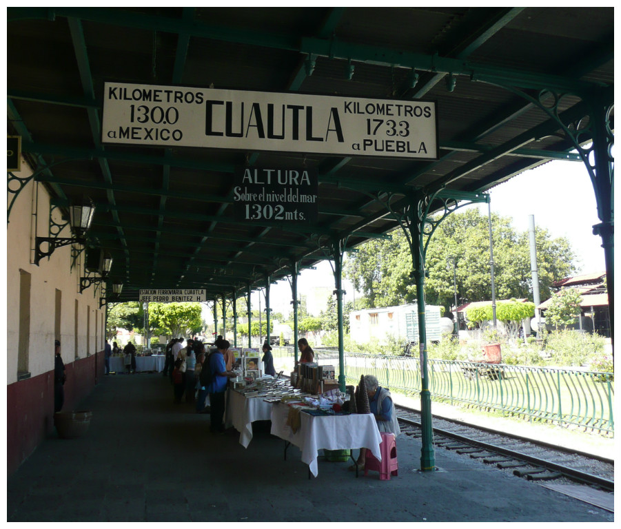 Cuautla's Railway Station | © Randal Sheppard/Flickr