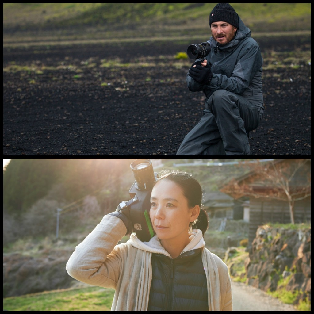 Images of Darren Aronofsky and Naomi Kawasi courtesy of SGIFF