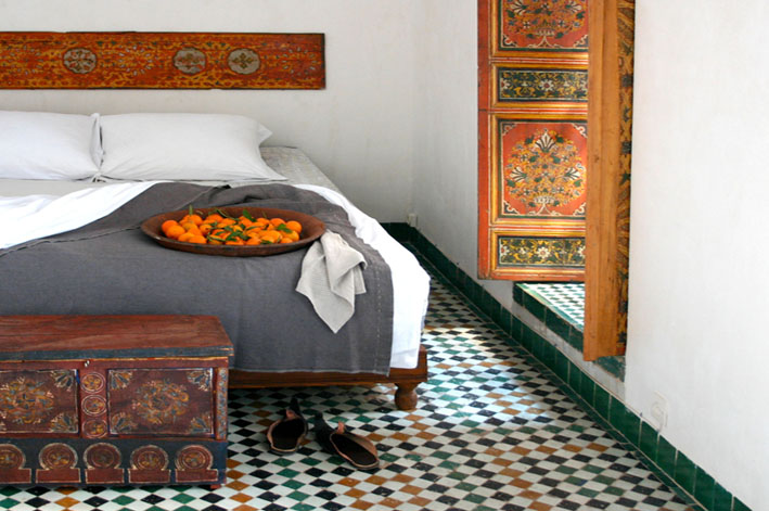 Bedroom at Dar Seffarine | © Dar Seffarine
