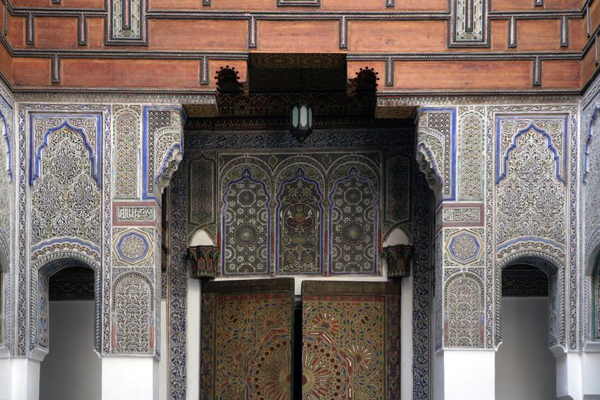 Dar Seffarine architectural details | © Dar Seffarine