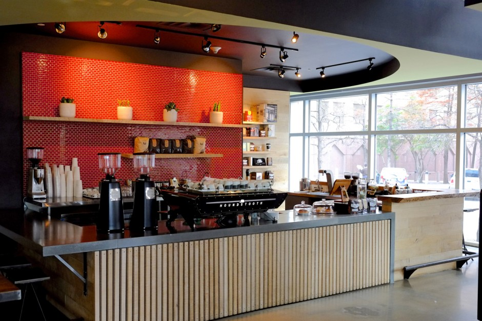 Houndstooth Coffee Interior © Courtesty of Houndstooth Coffee