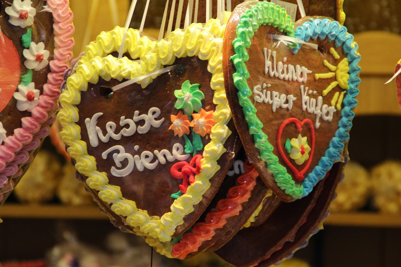 A Brief History Of Lebkuchen Germany S Heart Shaped