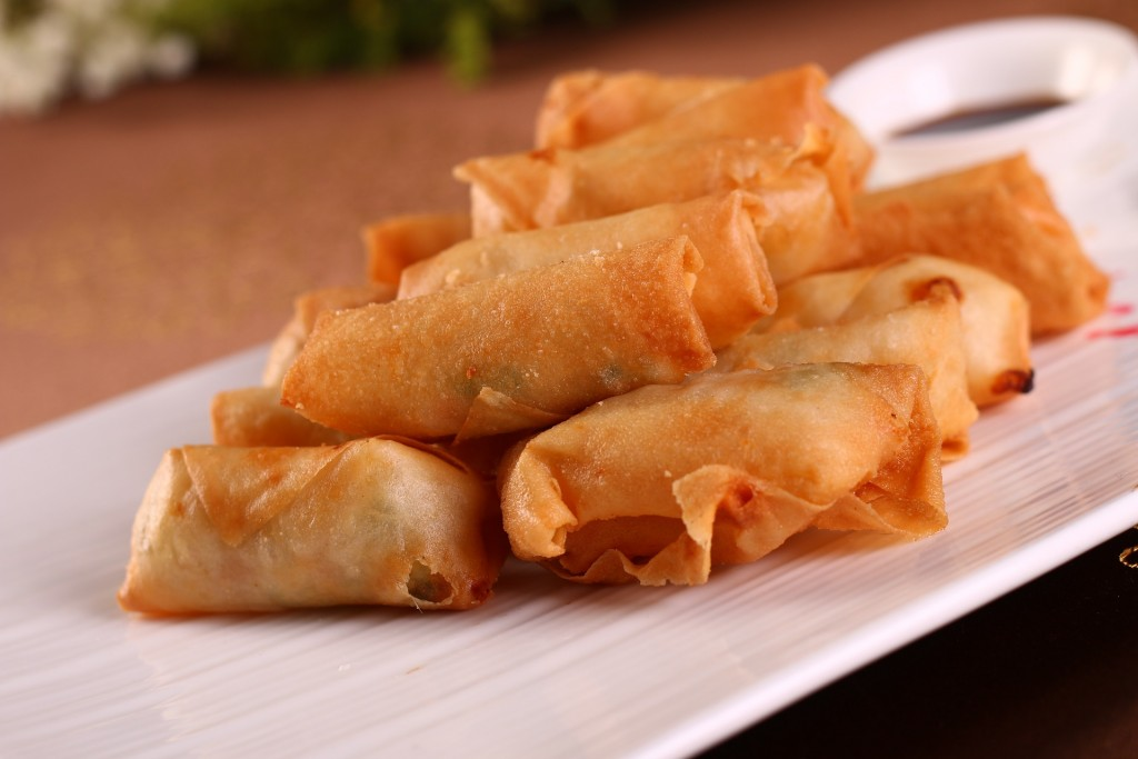 Fried spring rolls | © Courtesy of Pixabay