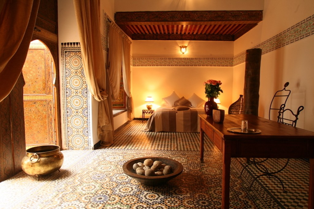Green Suite at Riad Laaroussa | © Riad Laaroussa