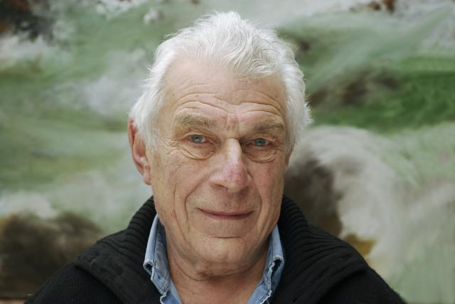 Paris, January 21. John Berger at home near Paris. |© Ulf Andersen / Getty Images