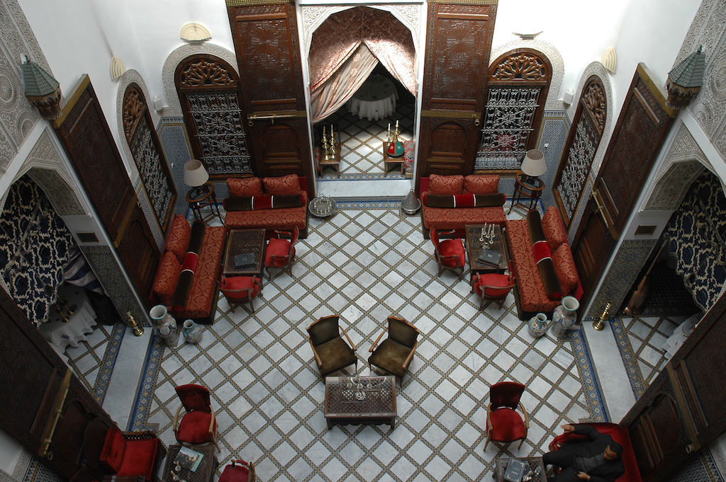 the most beautiful riads in fez morocco. Black Bedroom Furniture Sets. Home Design Ideas