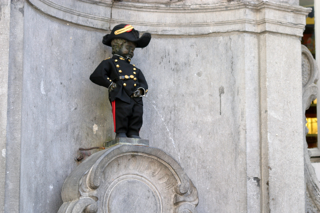 Apologise, Belgian peeing statue consider, that