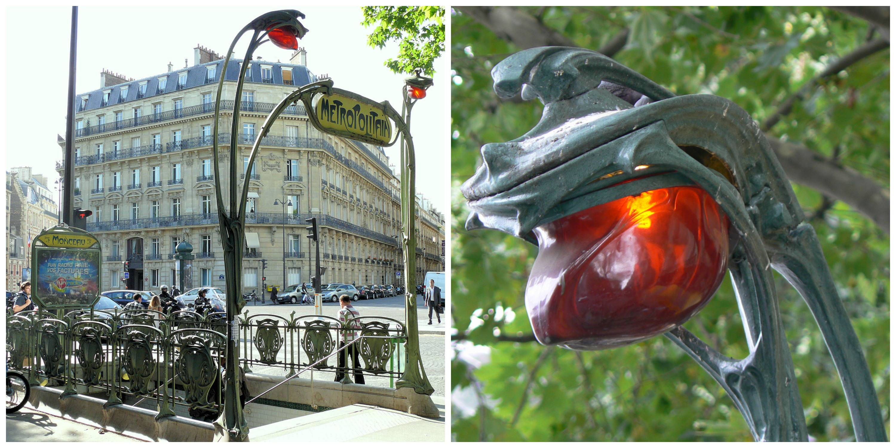 10 of the most beautiful art nouveau metro stations in paris for Deco in paris